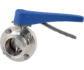 ForgeFit Stainless Butterfly Valve - 2 in. T.C.