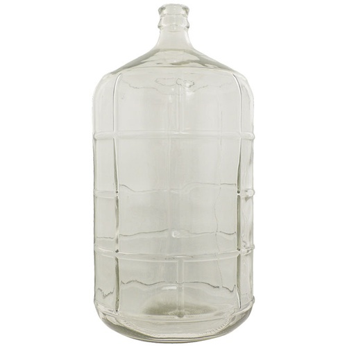 6.5 Gallon Glass Carboy With Smooth Neck