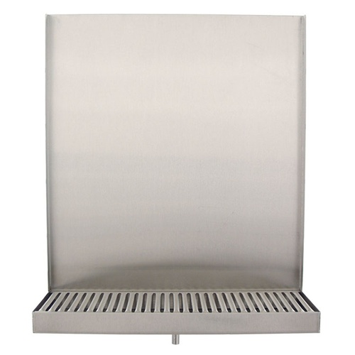 "13"" Wall Mount (Back Splash & Drain"