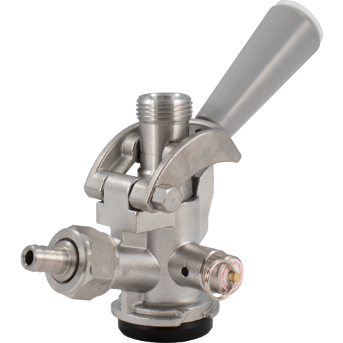 Taprite Stainless Steel D Style Sanke Beer Tap With Prv