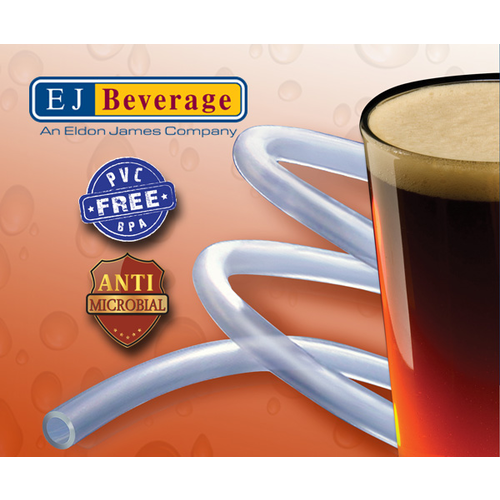 Ultra Barrier Silver™ Antimicrobial and PVC Free Beer Tubing - 3/16 in.