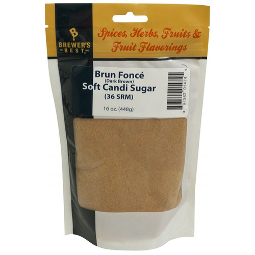 Brown Soft Belgian Candi Sugar (Brun Fonce)