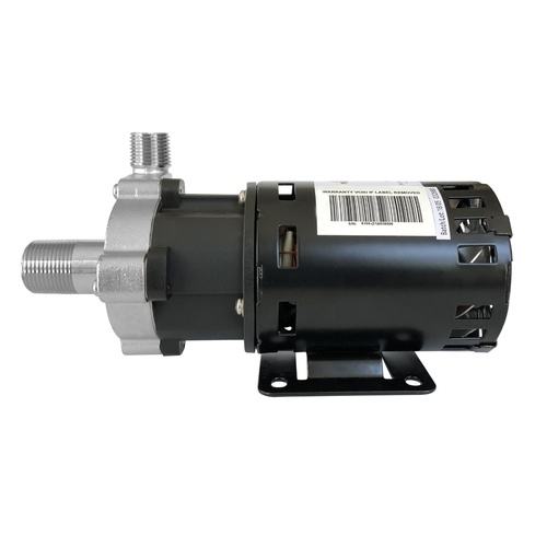 X-Dry Series Chugger Pump (Center Inlet) - Stainless Steel